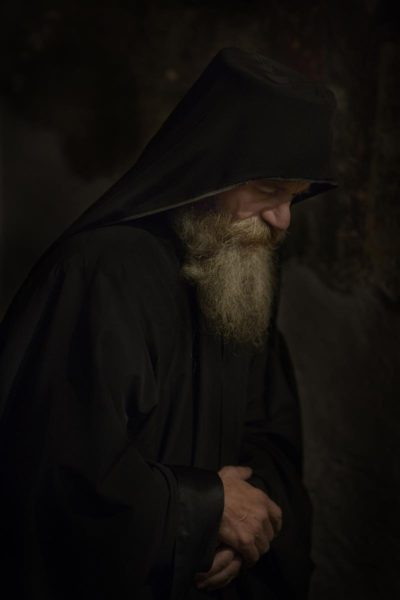 Orthodox Monk Serbia