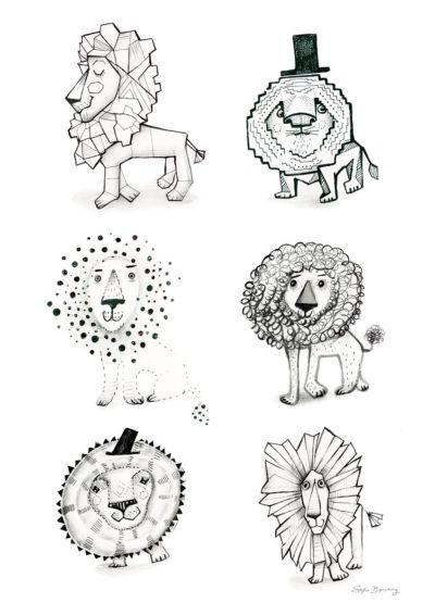 Lion Doodles