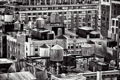 Water towers of NYC