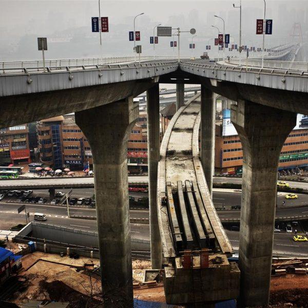 Chongqing er en af Kinas hurtigst voksende storbyer.